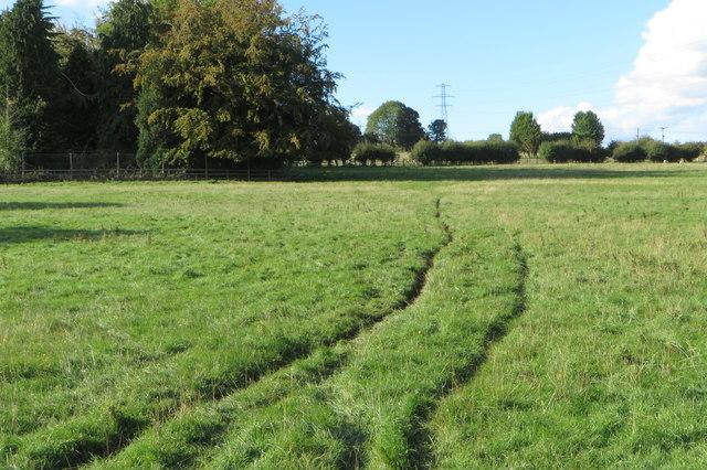 Bridleway by Versions Farm