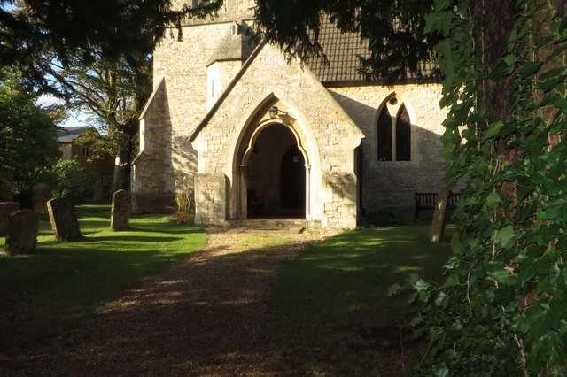 Path to the church door