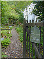 NY3407 : The garden at Dove Cottage, Grasmere by Robin Drayton