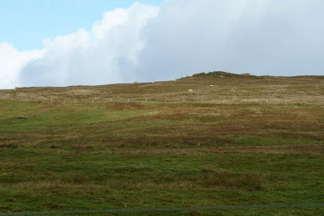 Slopes of Midi Field from Vatsetter