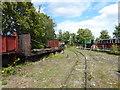 TQ9064 : Sittingbourne Viaduct station on the Sittingbourne & Kemsley Light Railway by Marathon