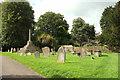 ST5763 : Churchyard, Chew Magna by Derek Harper