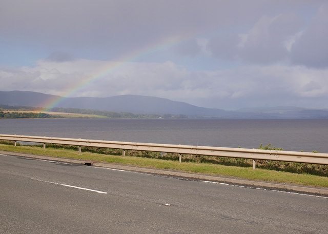 Rainbow over the Cromarty Firth