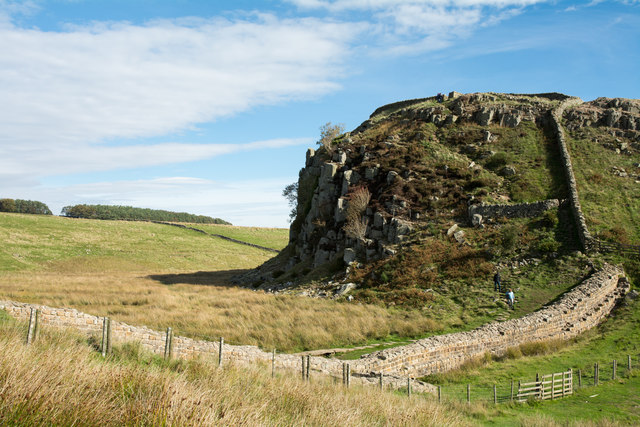 Most westerly rocks of Peel Crags