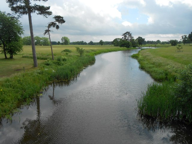 Croome River in Croome Park (2)