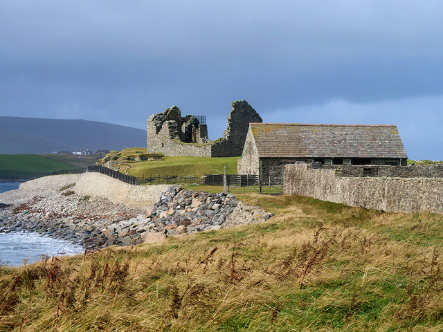 "Jarlshof Visitor Centre and the ""Old House of Sumburgh"""
