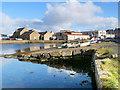 HU4641 : Small Boat Moorings, Lerwick Harbour by David Dixon