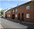 SU1660 : Row of brick houses, River Street, Pewsey by Jaggery