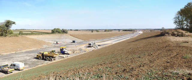 Building the new A14