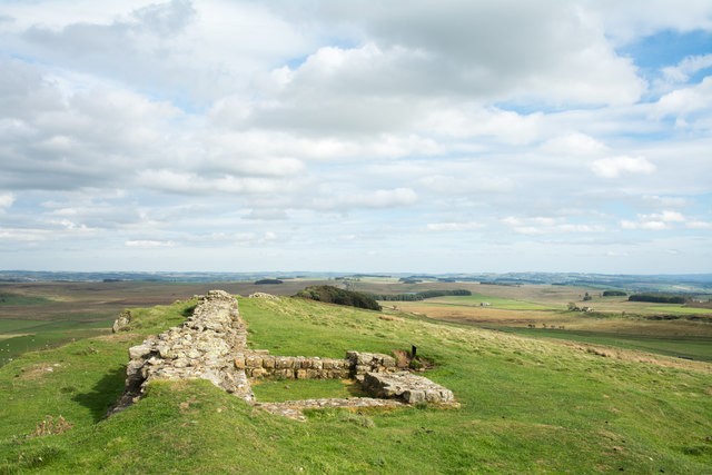 Turret along line of Hadrian's Wall