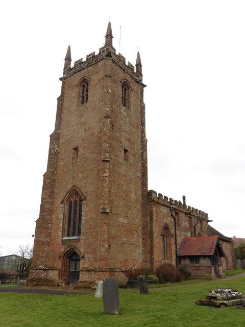 Ansley, Warwickshire, St Lawrence