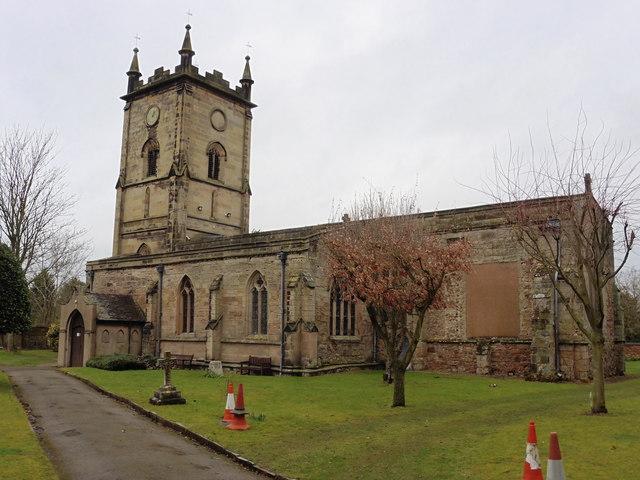 Grendon, Warwickshire, All Saints