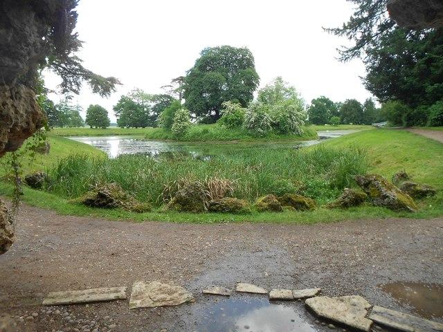 Croome Park: Island in Croome River