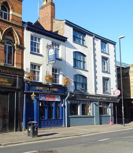 The Burton Arms, Manchester