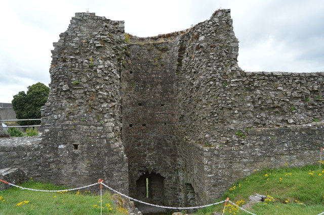 Ruined tower, Trim Castle