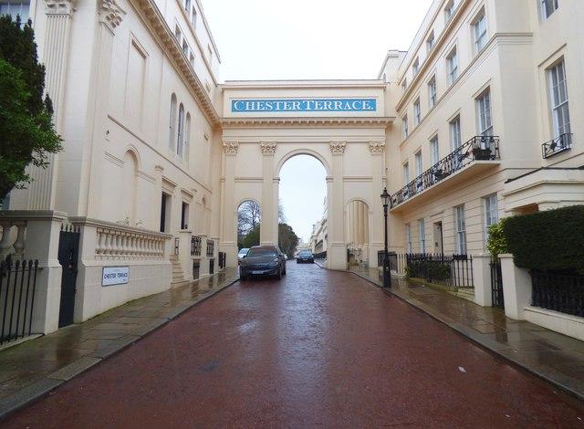 Regent's Park: Chester Terrace