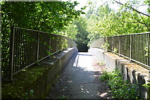 TQ6242 : Footbridge crosses A228 by N Chadwick