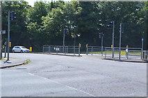 TQ6140 : Pedestrian crossing, A228 by N Chadwick