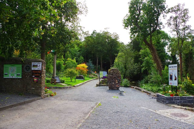 Entrance to the Memorial Garden, Cahir, Co. Tipperary