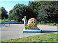 TQ2805 : Snailspace #05 Hove Park by Paul Gillett