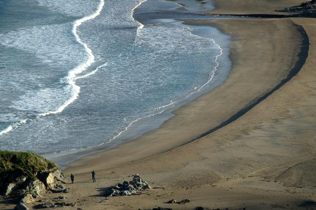Norwick beach from Braehead