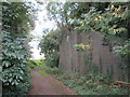 TL9290 : Dismantled  bridge  on  dismantled  railway  line by Martin Dawes