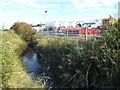 TQ9168 : Ridham Sea Terminals complex from the Saxon Shore Way by Marathon