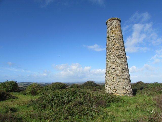 Old Mine Chimney on Polcrebo Downs