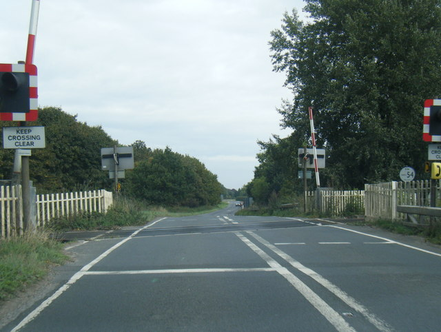 A614 level crossing
