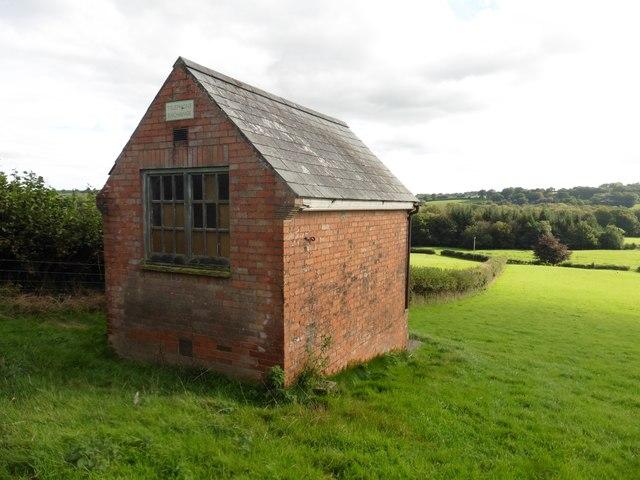 Former telephone exchange on Dunsley Farm