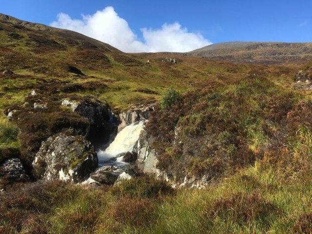 Waterfall on the Allt Mullardoch