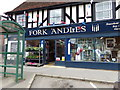 TL8528 : Fork 'Andles Hardware Shop, Earls Colne by Geographer
