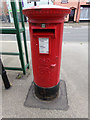 TL8528 : Halstead Road Postbox by Geographer
