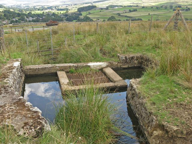 Water infrastructure below The Bents
