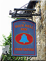 NY8837 : Sign for The Blue Bell Inn, St. John's Chapel by Mike Quinn