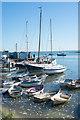 TQ8485 : Leigh-on-Sea : boats by Julian Osley
