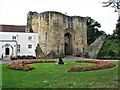 TQ5846 : Gatehouse, Tonbridge Castle by G Laird
