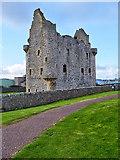 HU4039 : Scalloway Castle by David Dixon