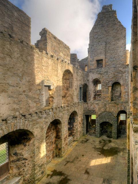 Scalloway Castle, the Main Hall