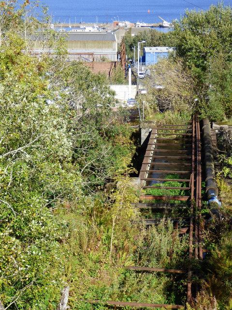 Old aqueduct on Shaws Water Scheme