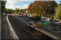 NN9358 : Platform Extension at Pitlochry Railway Station, Scotland by Andrew Tryon