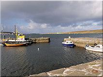 HU4741 : Lerwick Harbour, Hay's Dock by David Dixon