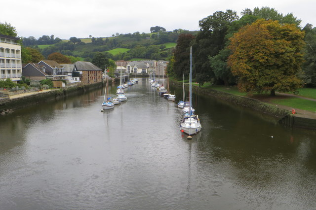 The Dart from Totnes Bridge