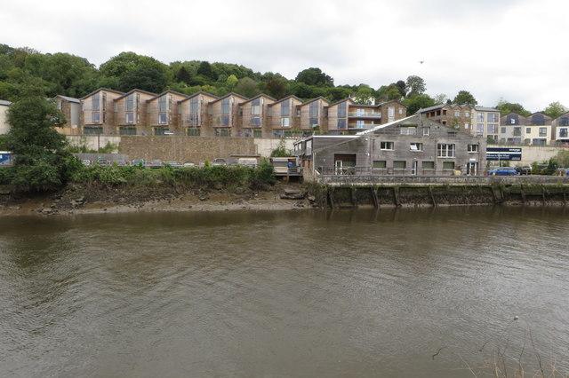 Riverside housing