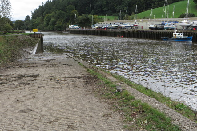 Slipway into the Dart