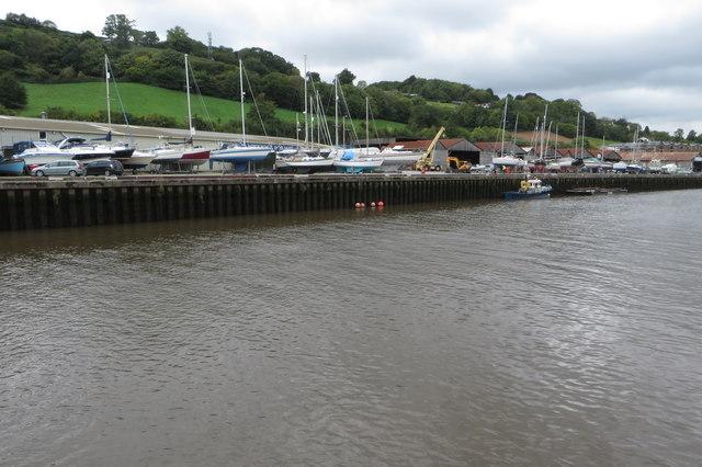 Boatyard on the Dart