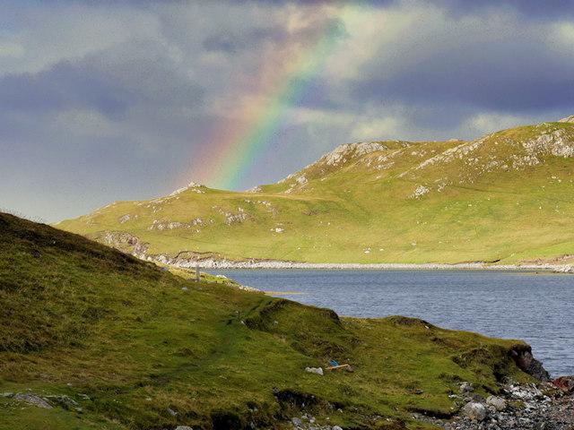 Mavis Grind, Rainbow over the Atlantic