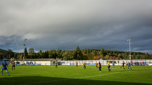 Seafield Park, home of Strathspey Thistle