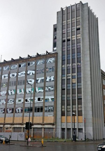 The former International Hotel