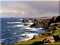 HU2078 : Esha Ness Coastline by David Dixon